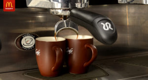 coffee at mcdonalds