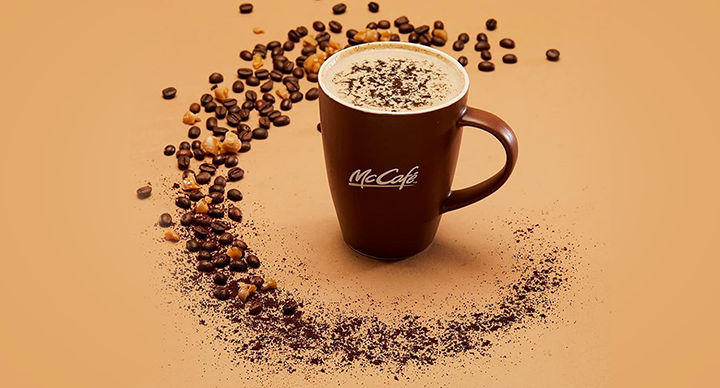 Four Flavours You Can Add To Your Coffee at McCafé