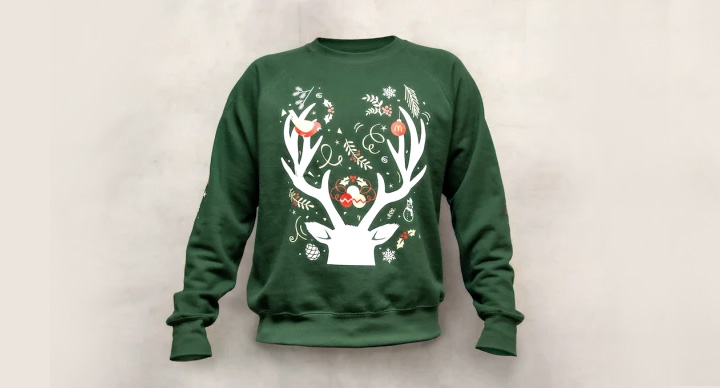 Christmas Jumpers By McDonald's