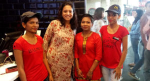 RED celebrations at McDonald's