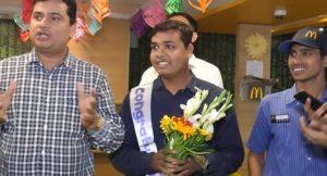 Dharmendra wins Ray Kroc Award