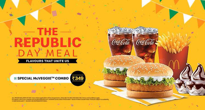 Republic Day Offer McDonalds