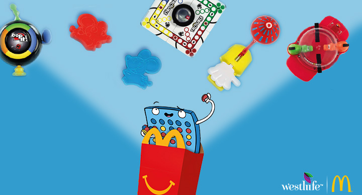 McDonald's Hasbro Happy Meal