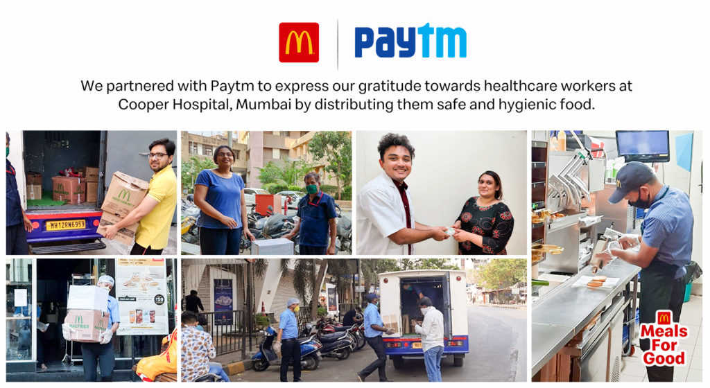 McDonald's and Paytm