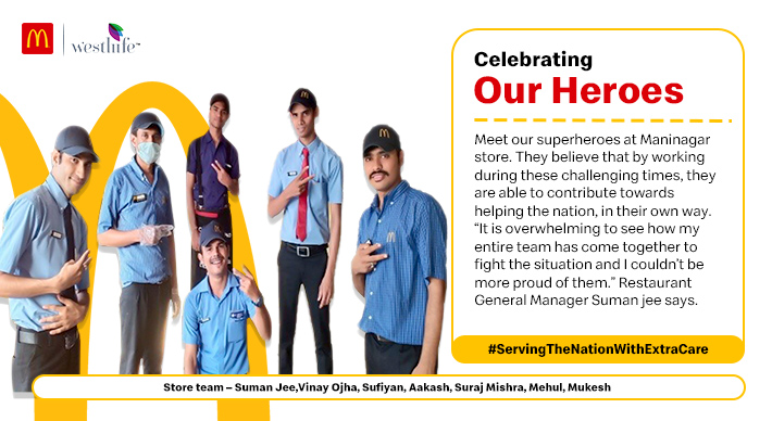 Celebrating Our Heroes: Maninagar, Ahmedabad Store