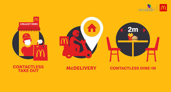 contactless delivery mcdonalds