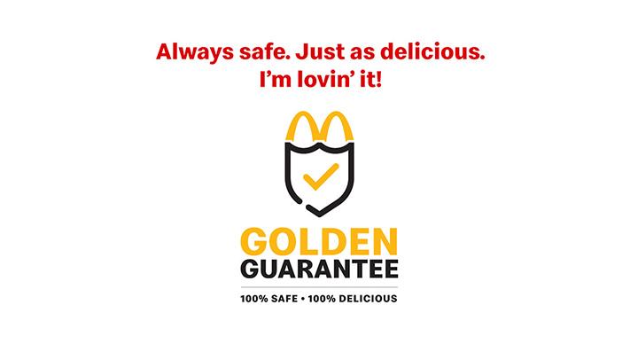 McDonalds Golden Guarantee