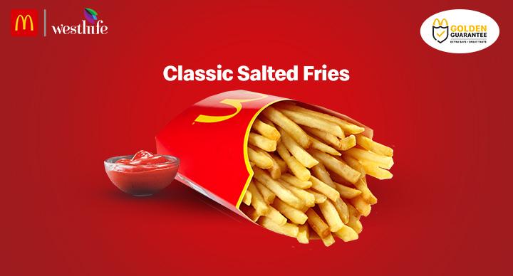 mcdonalds fries salt