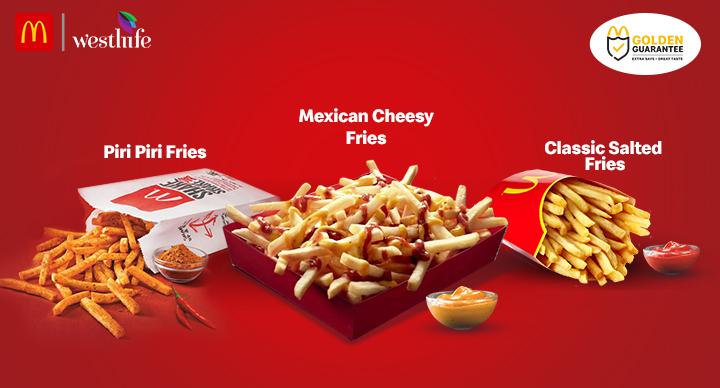 types of fries in mcdonald's