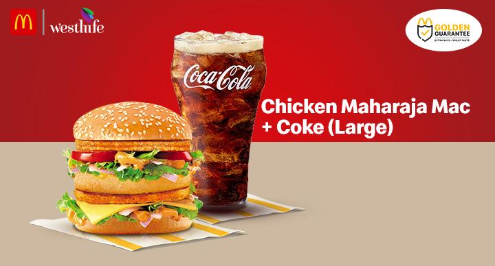 Chicken-Maharaja-mac-and-large-coke