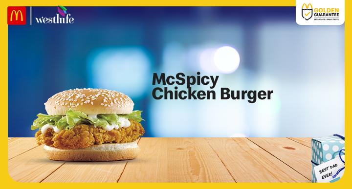 Mcspicy Burger McDonald's