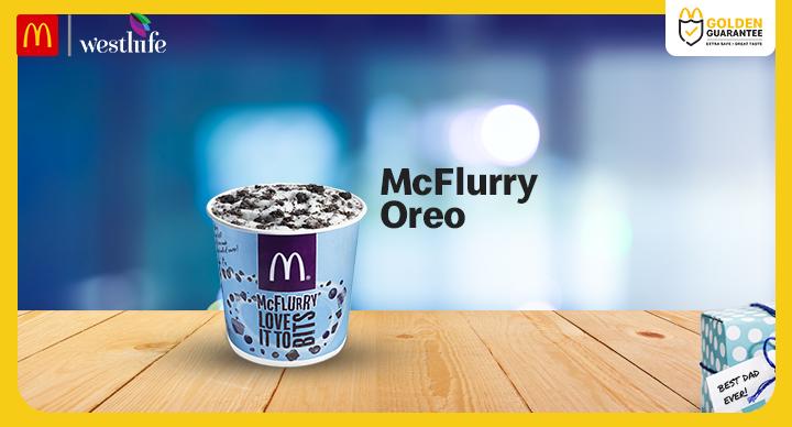 McDonald's Oreo Mcflurry