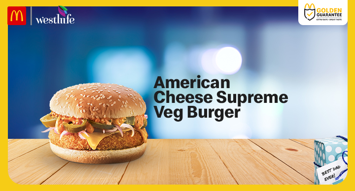 Mcd American Cheese Supreme