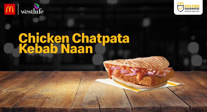 Chatpata Naan McDonald's