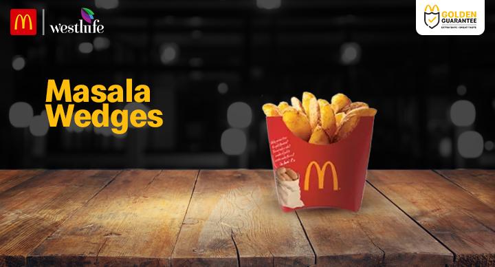 McDonald's Masala Wedges