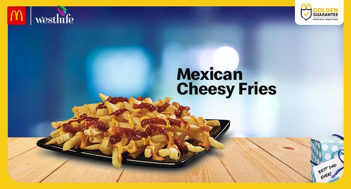 McDonald's Mexican Cheesy Fries