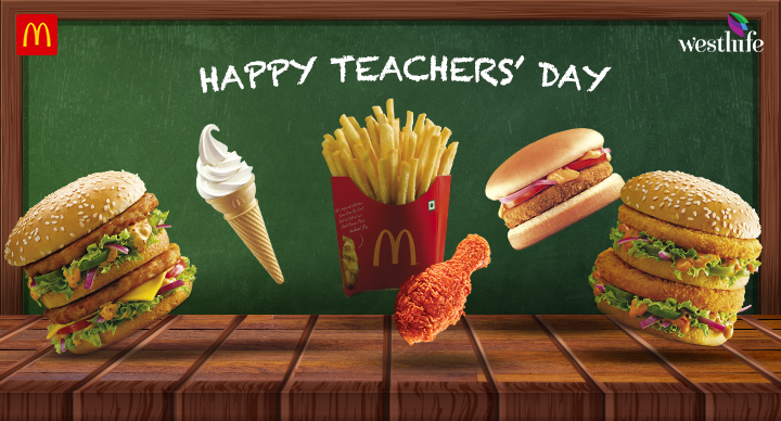 This Teachers' Day, we let our favourite McDonald's foods show us the way
